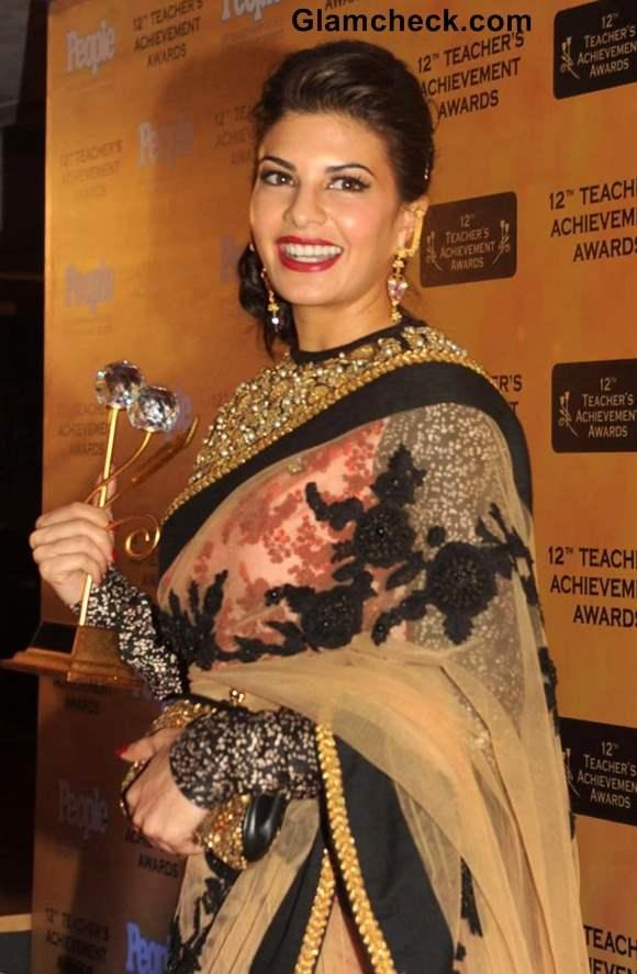 Jacqueline Fernandez Traditional at Teachers Achievement Awards 2013