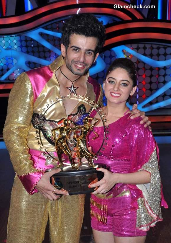Jay Bhanushali Mahi Vij Winners of Nach Baliye 5