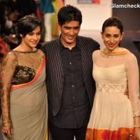 Kajol karisma kapoor at Manish Malhotra LFW Summer-Resort 2013
