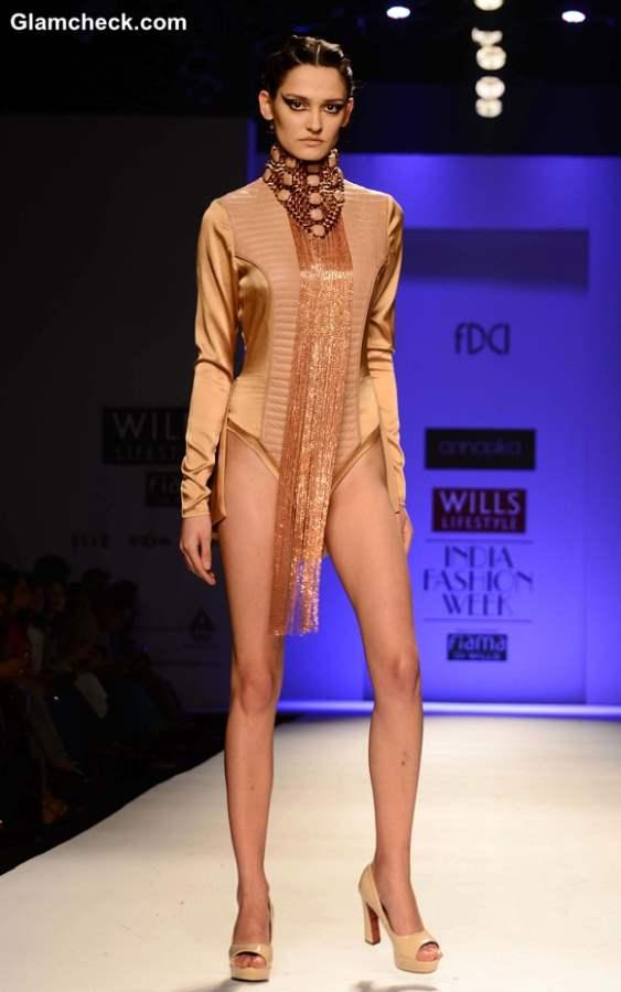 Kanika Saluja Choudhry WIFW Fall-Winter 2013 show