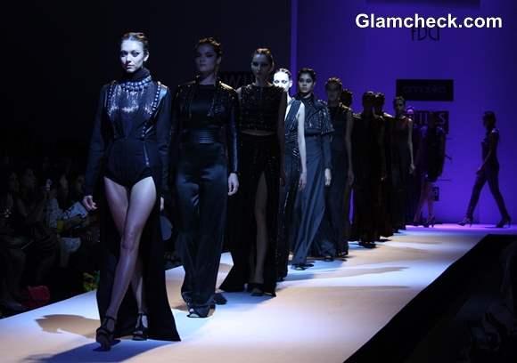 Kanika Saluja Choudhry at Wills Lifestyle India Fashion Week Fall-Winter 2013
