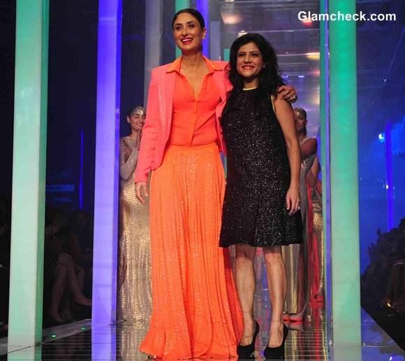 Kareena Kapoor for Namrata Joshipura at LFW Summer Resort 2013