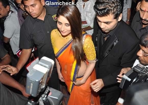 Kareena Kapoor in Sari 2013 FICCI FRAMES