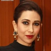 Karisma Kapoor Classic makeup red lips
