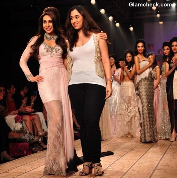 Karisma Kapoor Shehlaa Khan at Lakme Fashion Week Summer Resort 2013
