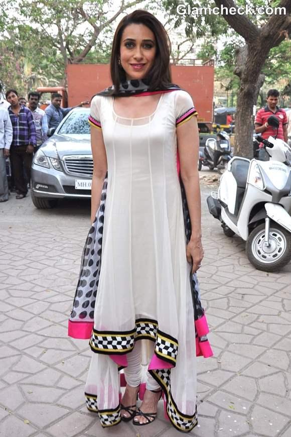 Karisma Kapoor in Salwar Kameez 2013