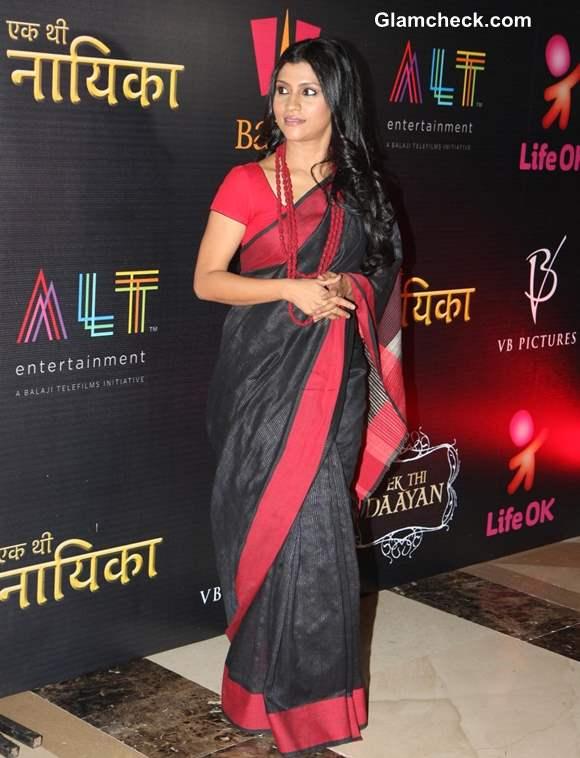 Konkona Sen promotes Ek Thi Nayika in Mumbai