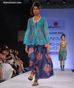 Anupama Dayal at the LFW Summer/Resort 2013