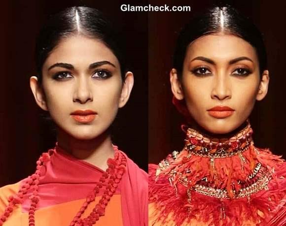 Makeup fall winter 2013 WIFW Tarun Tahiliani show