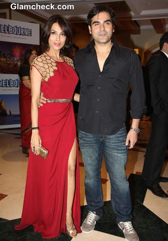Malaika Arora Khan with Arbaaz Khan 2013