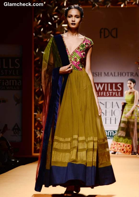 Manish Malhotra WIFW Fall-Winter 2013