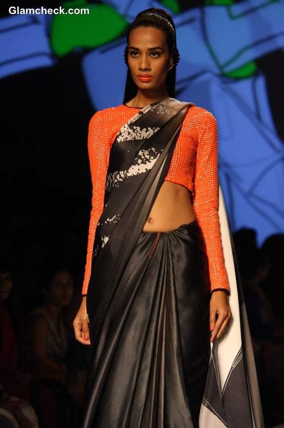 Masaba Gupta for Satya Paul WIFW Fall-Winter 2013