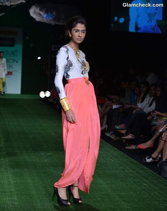 Masaba Gupta show LFW Summer-Resort 2013 Day 2