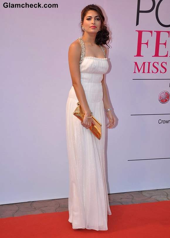 Model Parvathy Omanakuttan  at Ponds Femina Miss India 2013 Finale