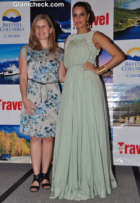 Neha Dhupia British Columbia tourism promotions