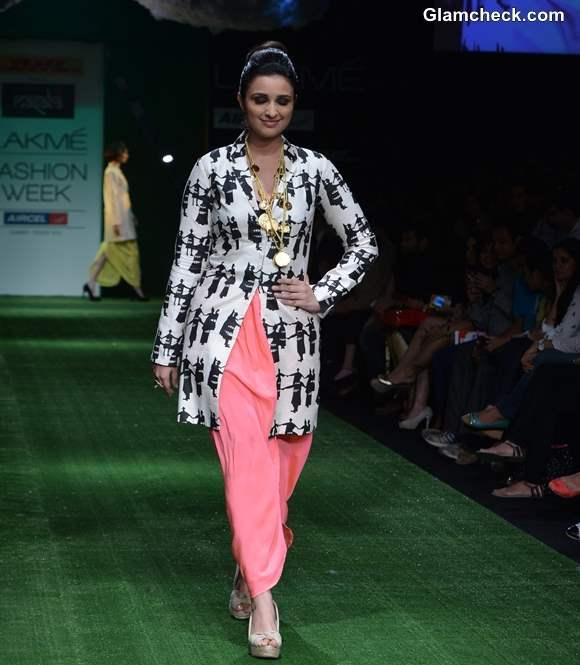 Parineeti Chopra Masaba Gupta LFW Summer-Resort 2013