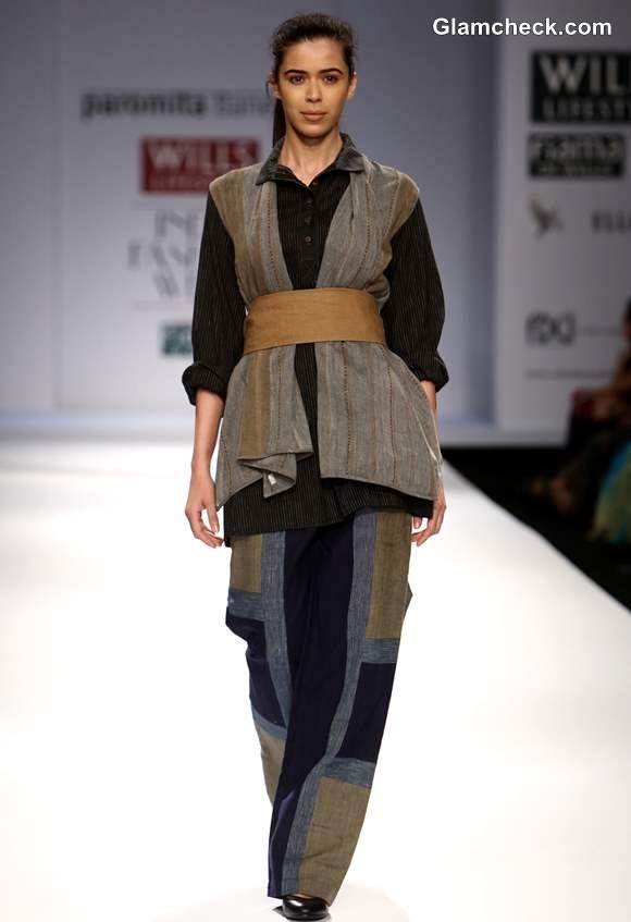 Paromita Banerjee Wills Lifestyle India Fashion Week Fall-Winter 2013