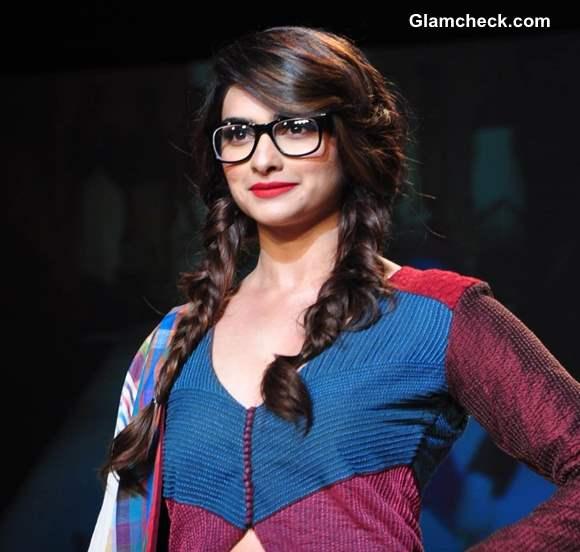 Prachi Desai at Lakme Fashion Week Summer-Resort 2013