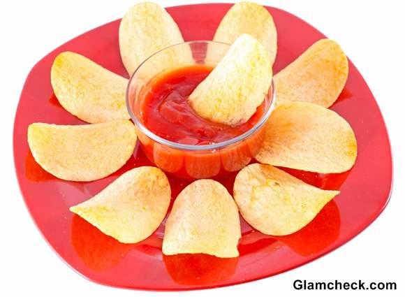 Salted Potato Chips Holi Snacks