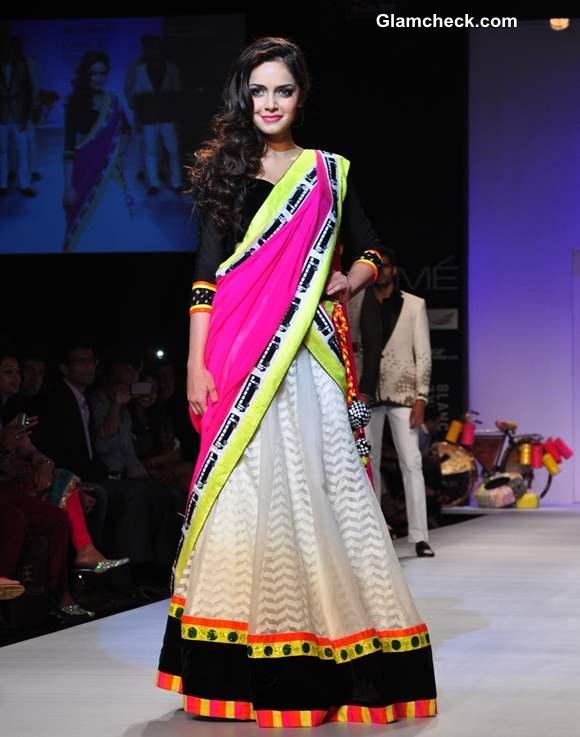 Shazahn Padamsee LFW Summer Resort 2013 Archana Kochhar show