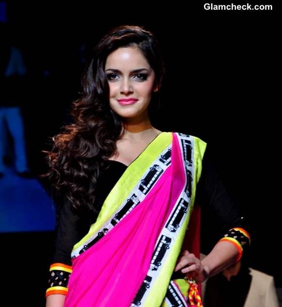 Shazahn Padamsee at LFW Summer Resort 2013 Archana Kochhar show