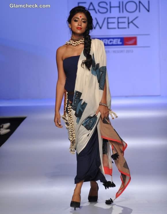 Shriya Saran for Asmita Marwa LFW Summer-Resort 2013