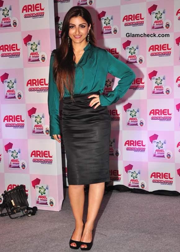 Soha Ali Khan at Ariel Color and Style Promos