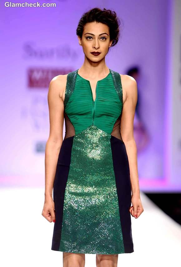 Surily Goel Collection at WIFW Fall-Winter 2013