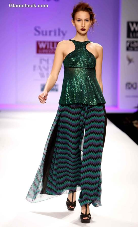 Surily Goel at WIFW Fall-Winter 2013
