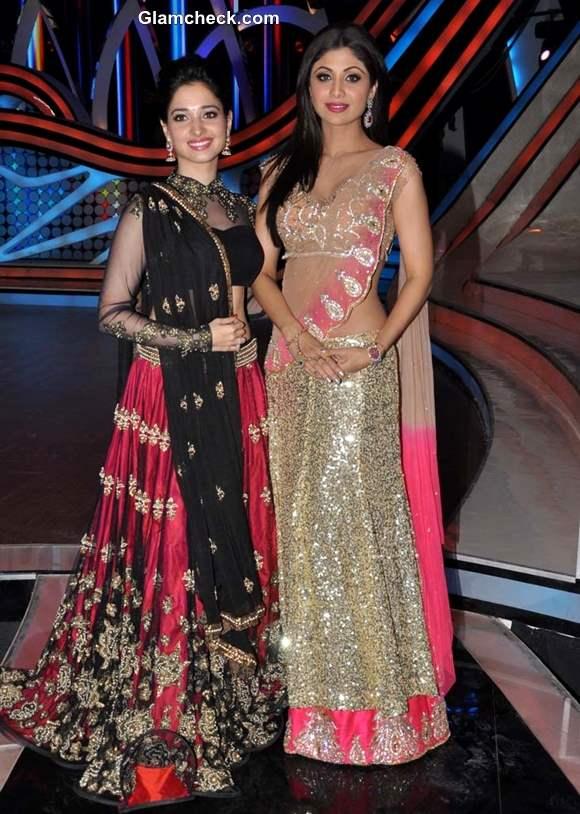 Tamannaah Bhatia Shilpa Shetty Grand finale Nach Baliye season 5