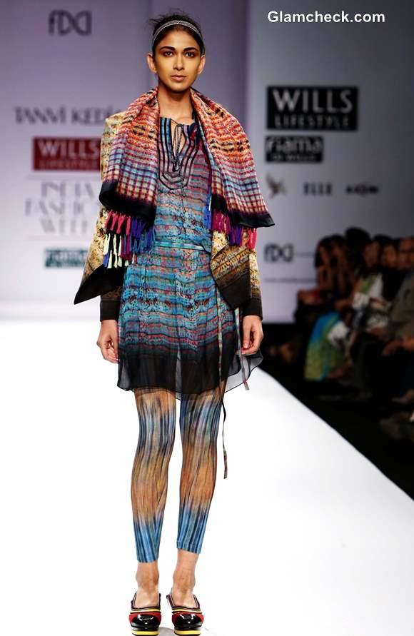 Tanvi Kedia WIFW Fall-Winter 2013 collection