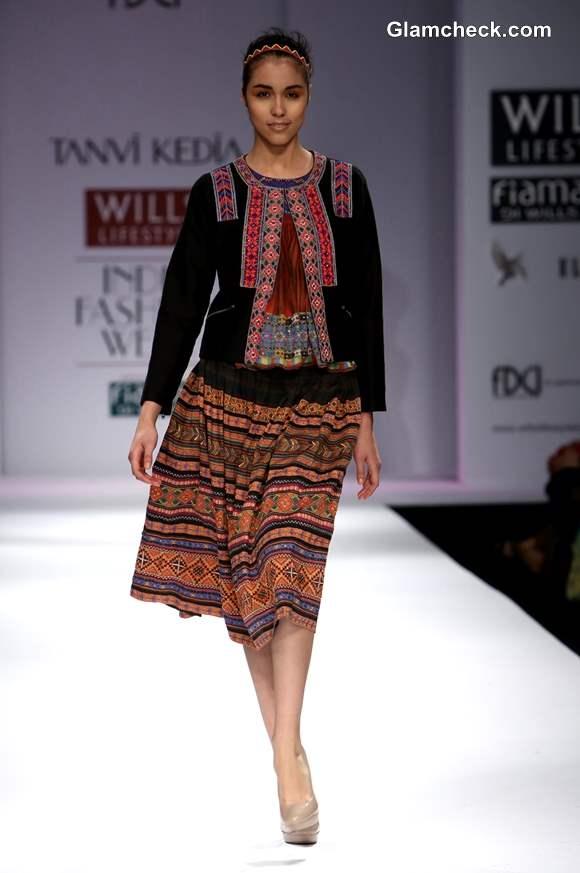 Tanvi Kedia WIFW Fall-Winter 2013