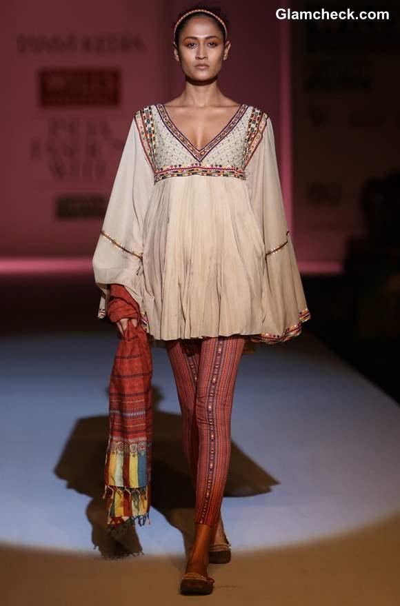 Tanvi Kedia Wills Lifestyle India Fashion Week Fall-Winter 2013 Day 2