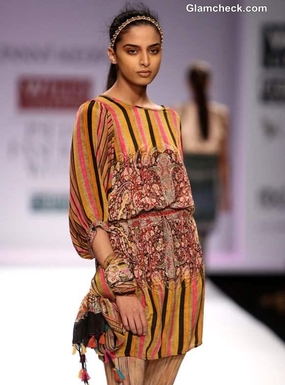 Tanvi Kedia at Wills Lifestyle India Fashion Week Fall-Winter 2013 Day 2