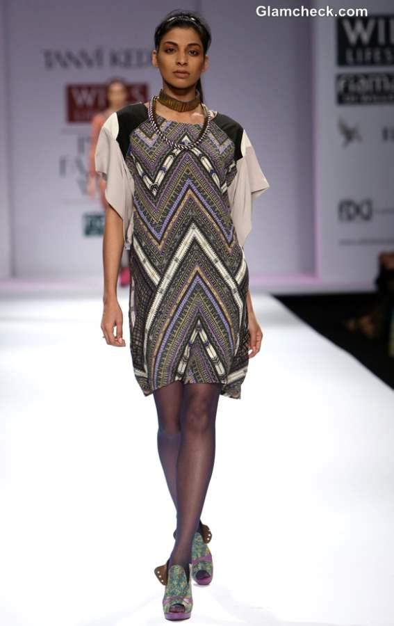 Tanvi Kedia at Wills Lifestyle India Fashion Week Fall-Winter 2013