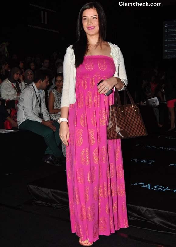 Urvashi Sharma at Lakme India Fashion Week Summer Resort 2013 - Day 2