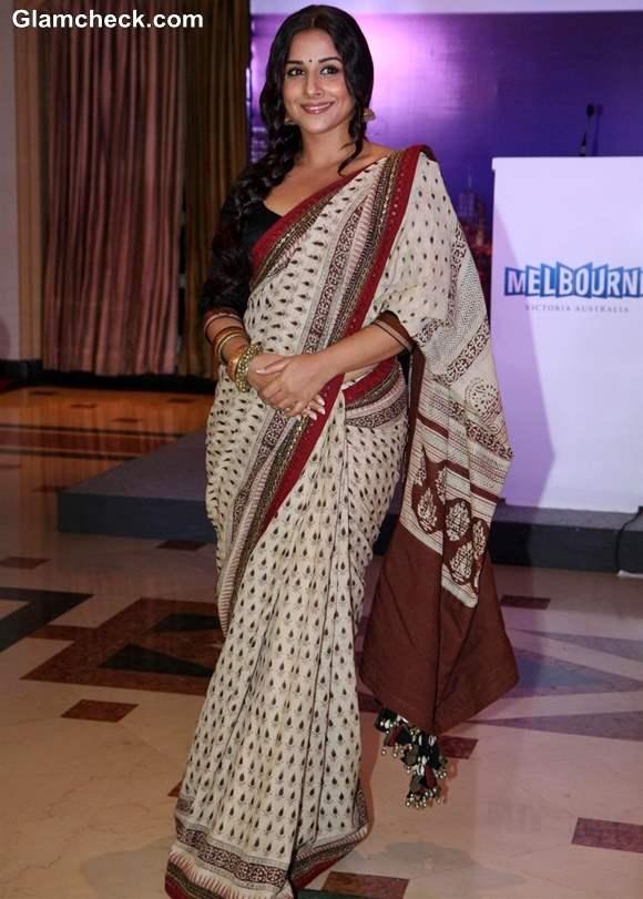 Vidya Balan in Sari Indian Film Festival of Melbourne 2013