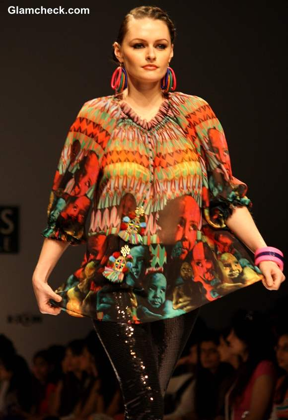 WIFW Fall-Winter 2013 Afrocentric Trend by Preeti S Kapoor