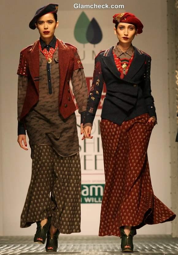 WIFW Fall -Winter 2013 Anju Modi show