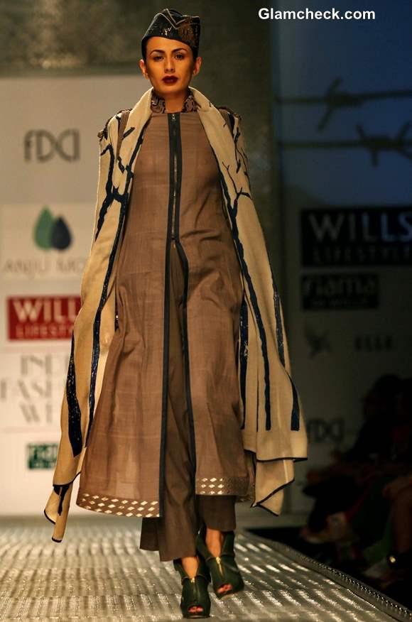 WIFW Fall -Winter 2013 Anju Modi
