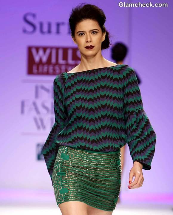WIFW Fall-Winter 2013 Surily Goel show