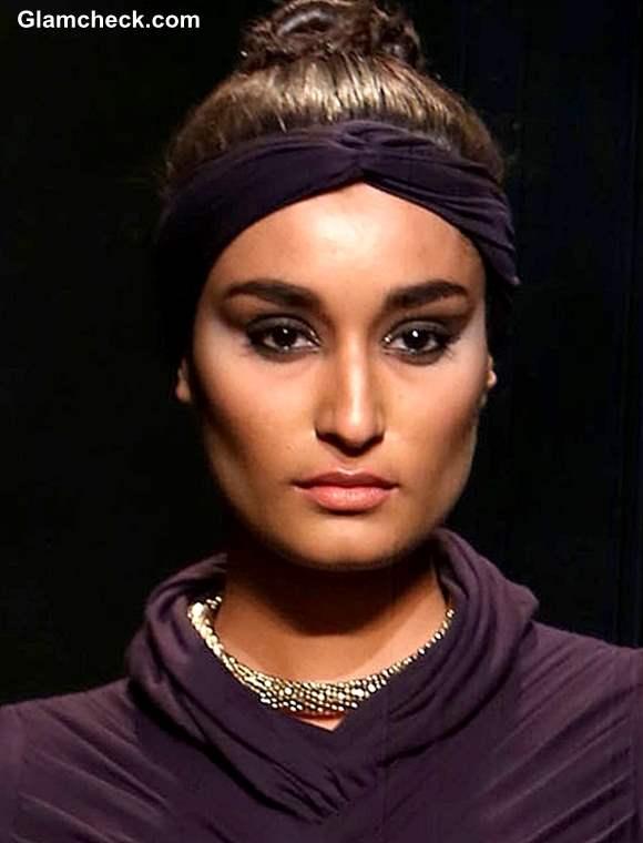 WIFW Fall-Winter 2013 hair makeup Shantanu Nikhil show