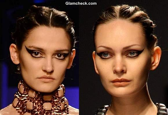 WIFW Fall-Winter 2013 hair makeup trend Kanika Saluja Choudhry