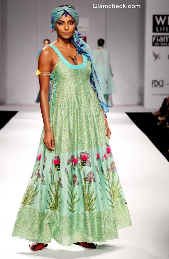 Wills Lifestyle Fashion Week Fall-Winter 2013 Anupama Dayal collection