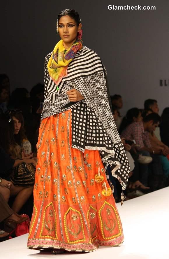 Wills Lifestyle Fashion Week Fall-Winter 2013 Anupama Dayal show