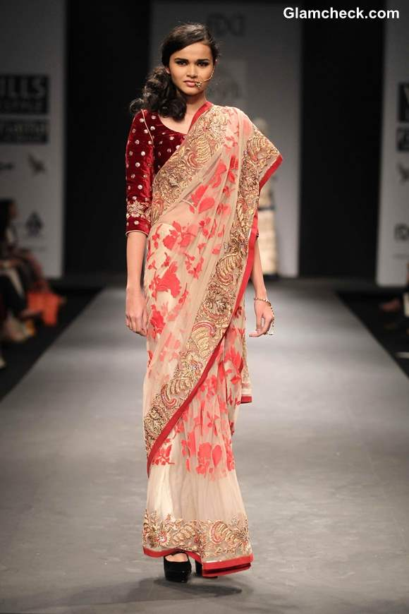 Wills Lifestyle India Fashion Week Fall-Winter 2013 Vineet Bahl