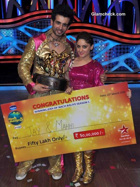 Winners of Nach Baliye 5 Jay Bhanushali Mahi Vij