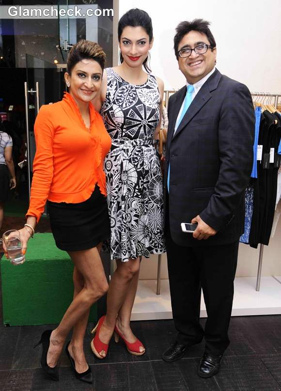 Yukta Mookhey Celebrates New Marc Cain Store