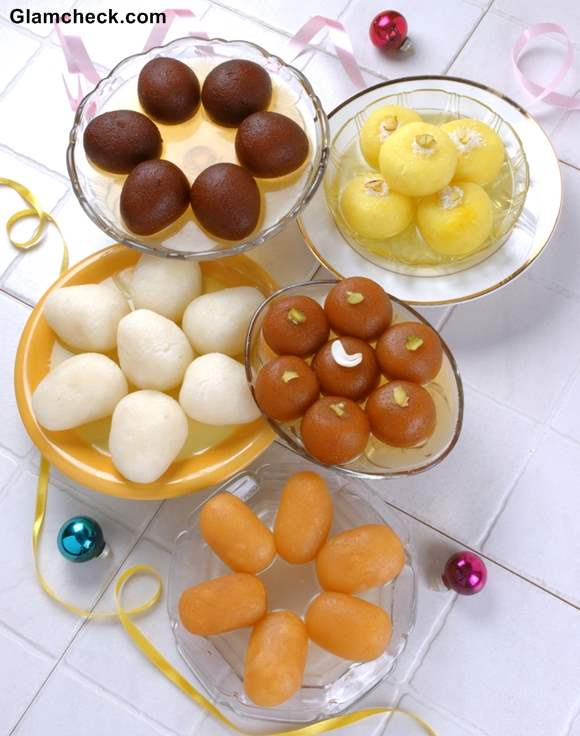 holi sweets gulab jamun