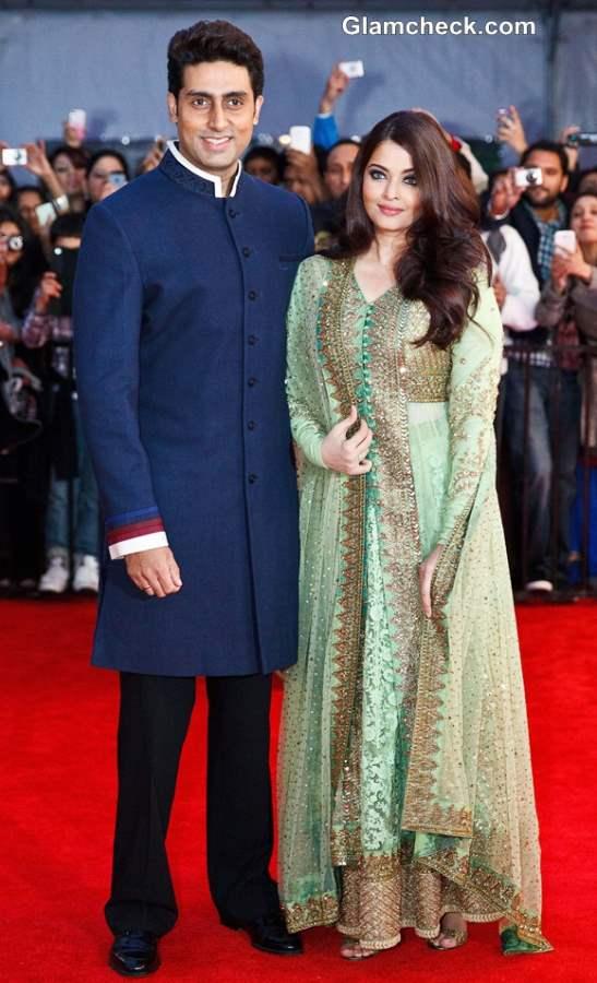 Aishwarya Rai Abhishekh Bachchan TOI Awards 2013